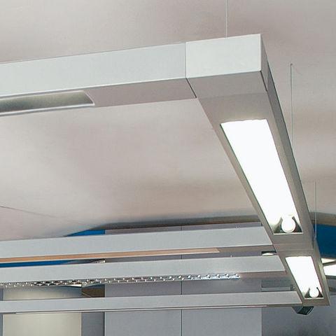 Metalmek - Lampada a sospensione per ufficio-Metalmek-Mondrian