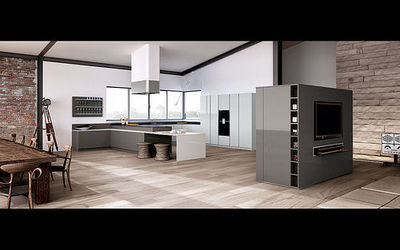 Linea 4 Cucine. Excellent Cucina Metri Completa Di With Linea 4 ...