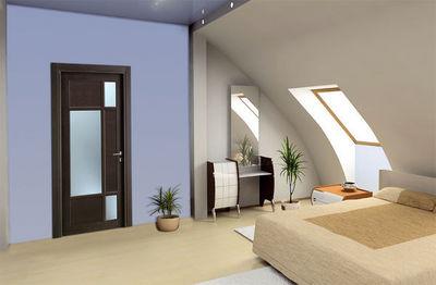 BERTOLOTTO PORTE - Porta interni a vetrata-BERTOLOTTO PORTE-Baltimora new - 2043 - Rovere grey